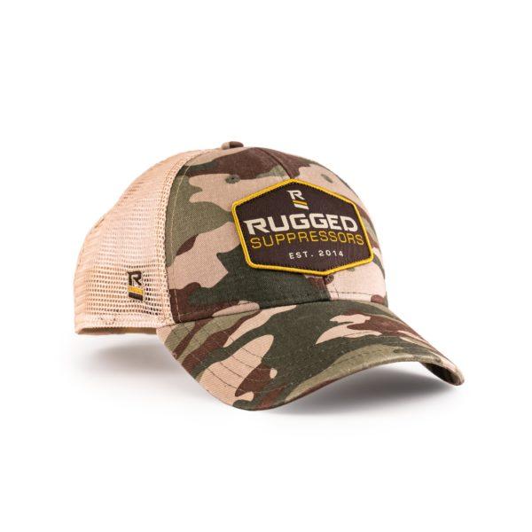 Rugged Camo Hat