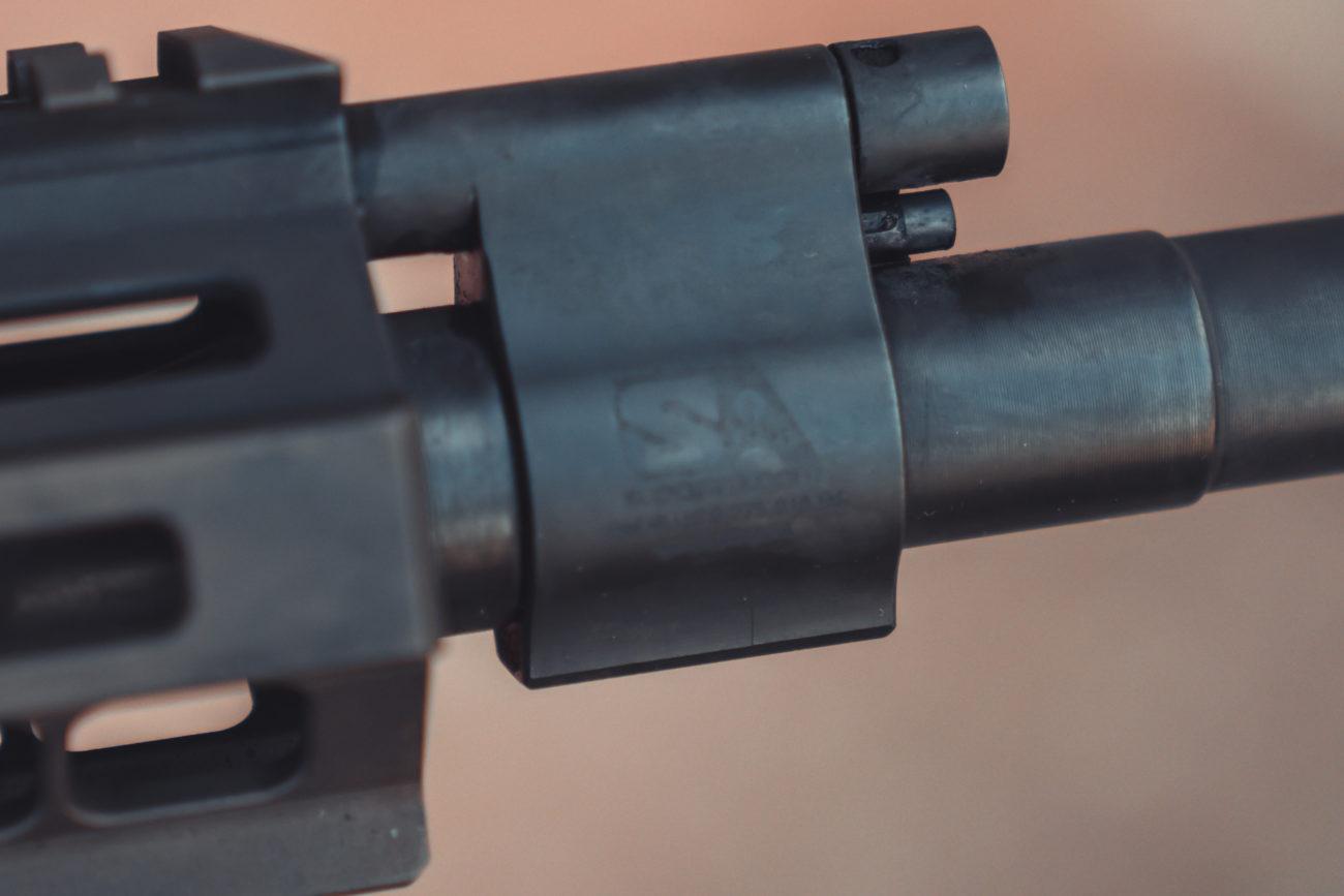Suppressor Guide Adjustable Gas Block